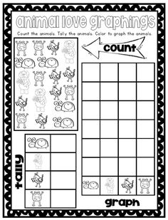 Tally & Graphing Worksheet Freebie