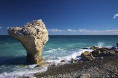 Mushroom Stone, on the Ionian Sea