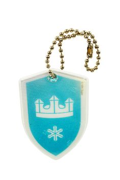 Knight's shield reflector Knight Shield, Safety, Pendant Necklace, Jewelry, Security Guard, Bijoux, Jewlery, Jewels, Jewelery