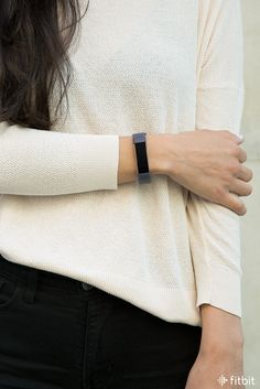 Keep your steps up and your style on point with the new indigo leather accessory band for Fitbit Alta HR and Fitbit Alta.