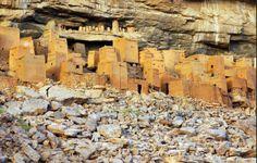 Dogon ruins