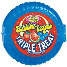 I'm learning all about Hubba Bubba Bubble Gum Tape Triple Treat at @Influenster!