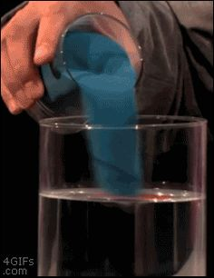 funny-gif-science-experiment-dust-water (apparently that blue stuff is called hydrophobic sand.or something) this is crazy