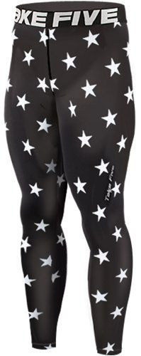 nice New 124 Skin Tights Compression Leggings Base Layer Black Running Pants Mens (L) Buy Now!