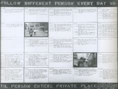 Vito Acconci: Following Piece, 1969. Documentation.