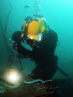 Wet welding inside the water which is commonly called as underwater welding. The process includes scuba diver to made welds on underwater structures and an operator manage the operation by sitting on.