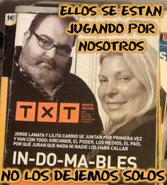 LANATA Y CARRIÓ