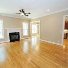 Red Oak Floor Stains | Red Oak Floor with natural stain | For the Home