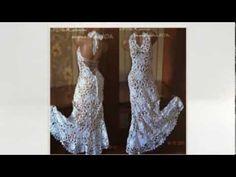 Выпускные платья — ирландское кружево / Graduation Dresses - Irish lace - YouTube