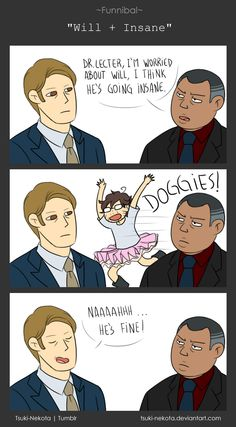 Funnibal - Will + Insane by Tsuki-Nekota