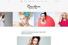 Randevu - Fashion Wordpress Theme by Evatheme on @creativemarket Fashion Wordpress Theme, Texture Web, Design Typography, Vintage Typography, Premium Wordpress Themes, Wordpress Blogs, Wordpress Template, Web Themes, Photoshop