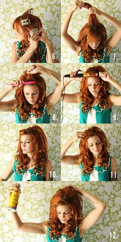 How to: big, fabulous old country inspired hair! beauty-basics-love
