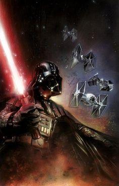 Vader by Drew Struzan.