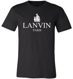 cool LANVIN Paris logo Men Shirt Check more at https://crazeline.com/product/lanvin-paris-logo-men-shirt-2/