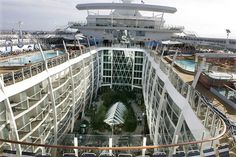 Inside of The World's Largest Cruise Ships
