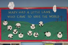 Easter - Mary had a little lamb who came to save the world.