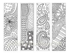 Zentangle Patterns for Beginners | Zentangle Patterns Printable Zentangle inspired