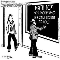 Math 101 - And I teach this college class.  YIKES!