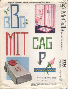Bias Tape Alphabet   Flickr - Photo Sharing!