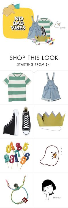 """""""Untitled #979"""" by jaykitten123 ❤ liked on Polyvore featuring GET LOST, MANGO, Converse, Williams-Sonoma and Venessa Arizaga"""