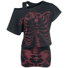 Full Volume by EMP Camiseta »Skeleton Shirt« | Cómpralos en EMP | Más Básicos Camisetas disponibles online ✓ ¡Precios inigualables!