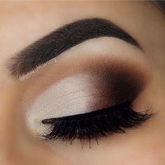 "Smokey eyes wearing Luxy Lash ""KEEP IT 100"" mink lashes! Shop: www.luxy-lash.com"