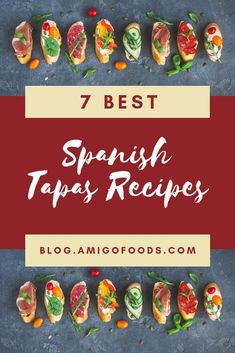With tapas being such a big part of Spanish culture, it stands to reason that some dishes are better than others. So, what are some of the best tapas recipes? Spanish Cuisine, Spanish Dishes, Spanish Tapas, Spanish Food, Spanish Recipes, Spanish Style, Tapas Dinner, Tapas Party, Dinner Bell