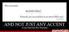 IT'S TRUE! Sounds like Ron Weasley