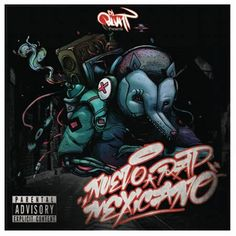 DJ Blunt - Nuevo Rap Mexicano mixtape front cover
