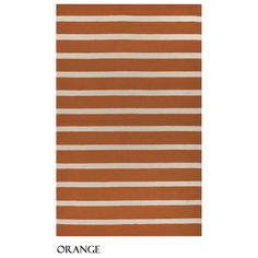 Rizzy Home Azzura Hill Collection Bi-colored Striped Area Rug (9' x 12') (Red), Size 9' x 12'