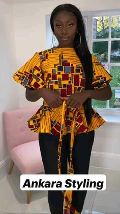 Short African Dresses, African Inspired Fashion, Latest African Fashion Dresses, African Print Fashion, Africa Fashion, African Dress Styles, Ankara Dress Styles, Ankara Tops, African Wear