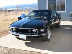 1969 Ford Mustang Fastback, exterior