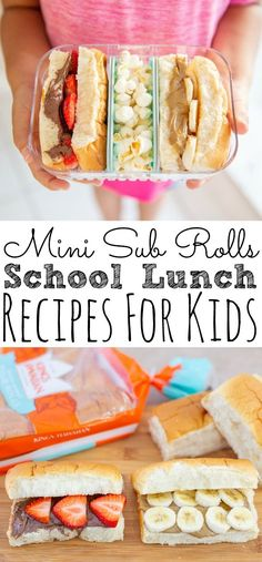 Mini Sub Rolls Back to School Lunch Ideas - Simply Today Life, Mini Sub Rolls Back to School Lunch Ideas - Simply Today Life Snacks for Kids School Lunch Recipes, Back To School Lunch Ideas, Healthy School Snacks, Paleo, Keto, Family Meals, Kids Meals, Sub Rolls, Mini Rolls
