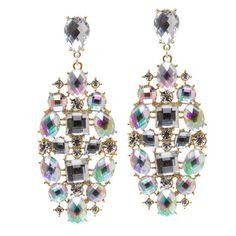 Diamond a Day crystal earrings