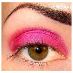 Dahlia Eyeshadow Mineral makeup (Bright Hot Pink) Some Like it Hot... ($4.99) ❤ liked on Polyvore