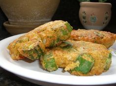 Pete's Okra Patties. I wonder if I couldn't just throw okra in with the quinoa burger recipe.