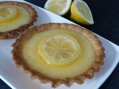 Tarte minceur au citron