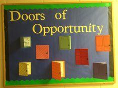 Doors of Opportunity Ways to get involved on campus Miranda Nelson Schroeder 4th floor https://www.evansville.edu/studentengagement/organizations.cfm