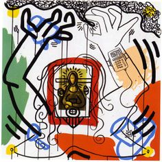 KEITH HARING - APOCALYPSE VI Size: 38x38 INCHESYear: 1988 Medium: SILKSCREENEdition: HC OF 5 Description: Hand signed and numbered. Artwork is in excellent condition. Certificate of Authenticity included. Additional images available upon request. Please contact Melissa@GallArt.com - (305)932-6166 for pricing
