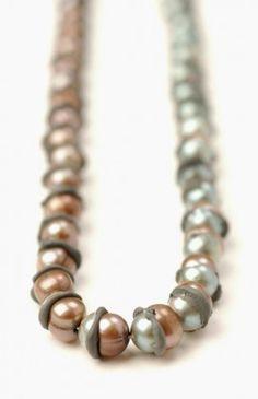 Laura Deakin, Contemporary Jewellery - Work - Pearl Series