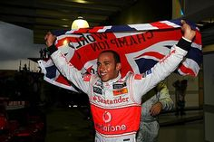 Lewis Hamilton one of my favorite Formula 1 racecar drivers