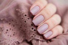 Matte nails Love this color!!!