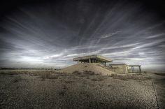 Laboratório de Pesquisa de Armas Atômicas_Complexo de Laboratórios de Vibração | Orford_Inglaterra | Construído em 1956 e abandonado em (?)