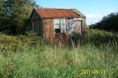 Wiggly tin shed - one of 6