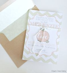 Project Nursery - invitations