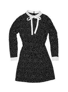 Stories... by Kelly Osbourne Polka Dot Shirt Dress – StoriesbyKO