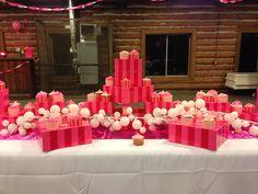Cupcake table!!   https://www.etsy.com/listing/174556717/custom-victorias-secret-inspired-banner?