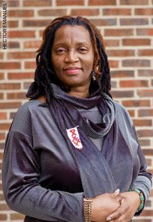 Sabrina Heard fights HIV with her personal experience. A recovered addict who's been living with HIV for more than two decades, Heard emerged from years of denial and learned how to care for herself with the help of the Women's Collective, a small social services agency for women with HIV in Washington, DC.