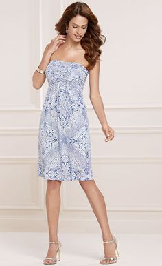 20996de356a7 Starry Night: Soma Lisa Dress in Stamped Crochet Atlantis Print Great  Recipes, Atlantis,