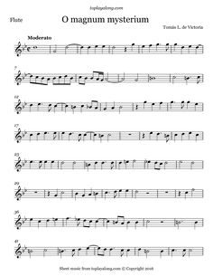 Free flute sheet music for O magnum mysterium by Victoria with backing tracks to play along. Free Violin Sheet Music, Trumpet Sheet Music, Violin Music, Backing Tracks, Play To Learn, Victoria, Piano Lessons, Classical Music, Scores